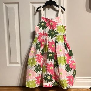 Other - Floral Fit Flare Puffy Straps Bow Square Casual 5